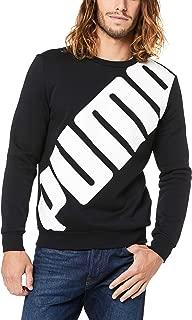 PUMA Men's Big Logo Crew