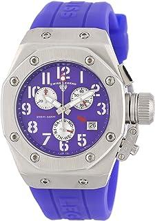 Women's 10535-011 Trimix Diver Chronograph Purple Dial Purple Silicone Watch