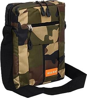 Storite Stylish Nylon Sling Cross Body Travel Office Business Messenger Bag for Men & Women (17 x 6.5 x 25 cm) (Army Print)