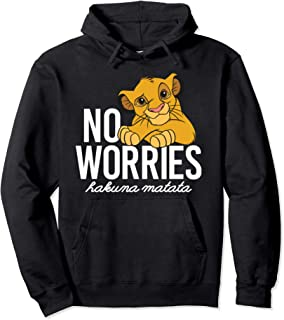 Lion King Classic No Worries Simba Pullover Hoodie