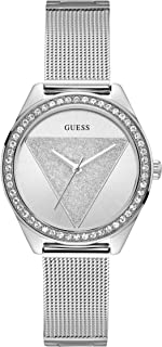GUESS Womens Quartz Watch, Analog Display and Stainless Steel Strap - W1142L1