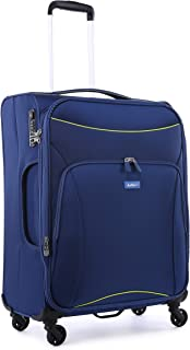 Antler 4263145016 Zeolite 4W Medium Roller Case Suitcases (Softside), Blue, 66 cm