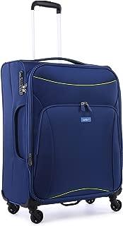 Antler 4263145016 Zeolite 4W Medium Roller Case Suitcases (Softside), Blue, 66 cm