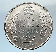 1907 unknown 1907 King EDWARD VII of United Kingdom EMPEROR Br coin Good Uncertified