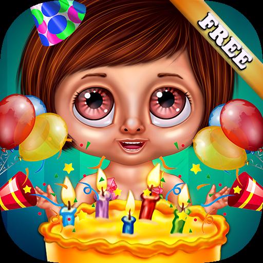 Juegos fiesta de cumpleaños: ¡Ten un super cumpleaños con tus amigos en este divertido juego educativo! GRATIS
