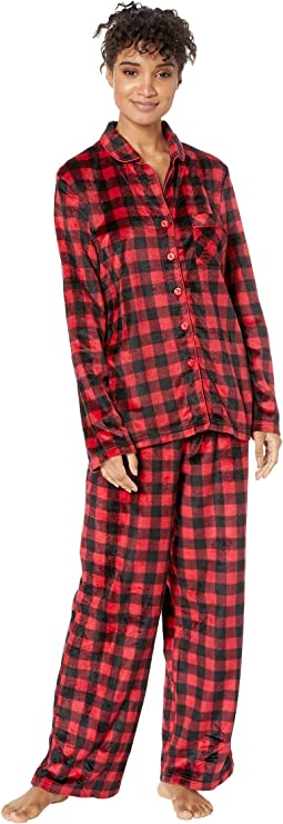 Buffalo Plaid Family Long Sleeve Classic PJ Set