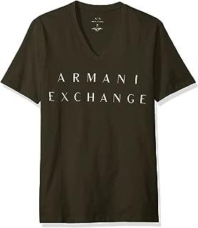 A|X Armani Exchange T-Shirts For Men, M, Green (8NZTCMZJH4Z)