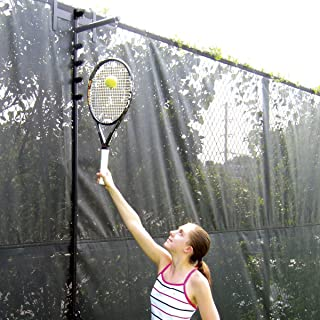 Oncourt Offcourt Tennis Fence Trainer - Improve Your Serve Consistency/Attaches onto Any Tennis Court