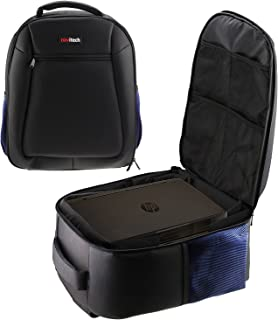Navitech Rugged Black Carry Backpack/Rucksack/Case for The HP Scanjet Pro 2000 s1