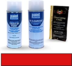 PAINTSCRATCH Laser Red 278/4VU for 2012 Saab 9-3 - Touch Up Paint Spray Can Kit - Original Factory OEM Automotive Paint - Color Match Guaranteed