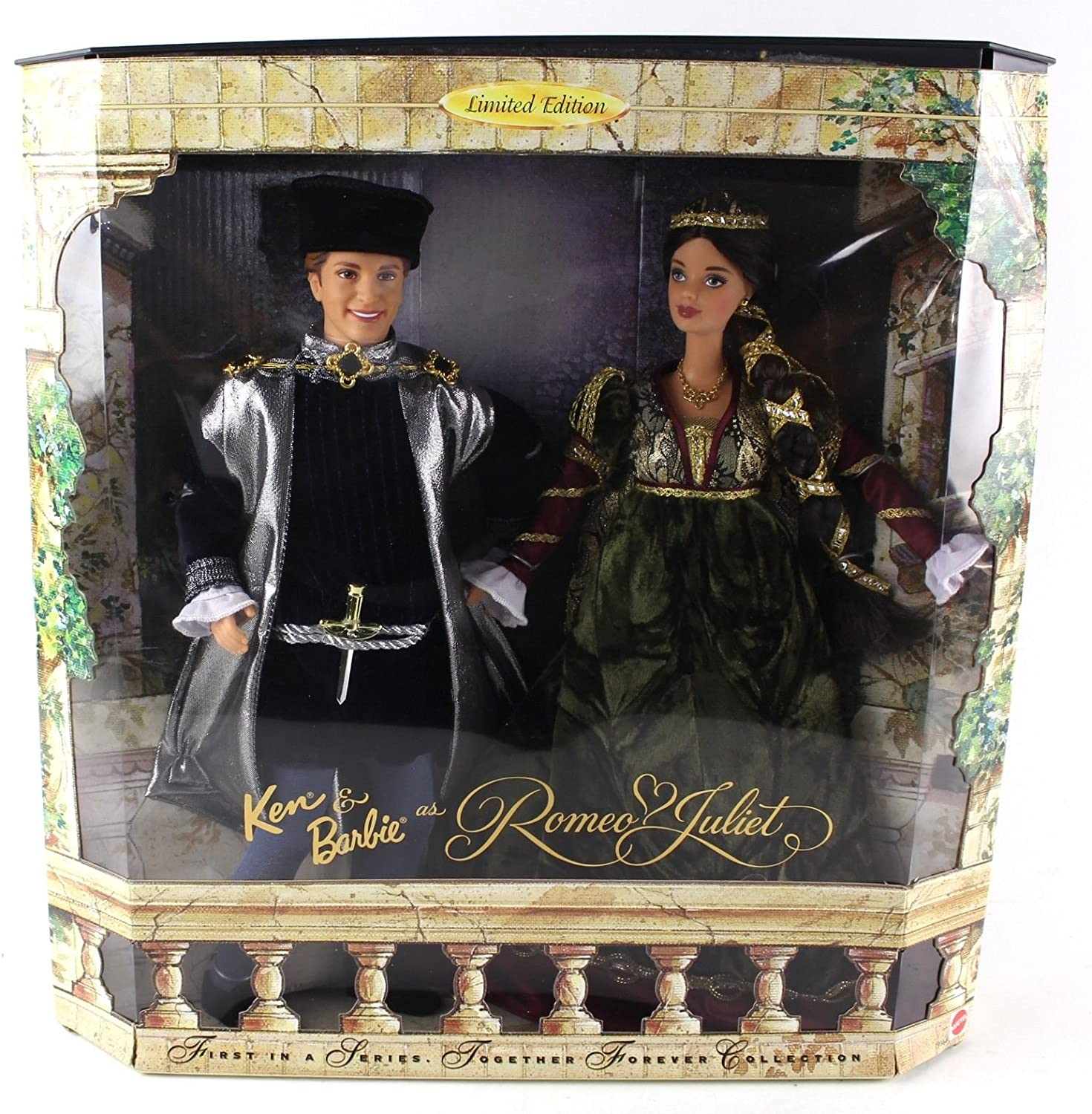 Barbie & Ken As Romeo & Juliet Limited Edition Together Forever Collection (1997) by Mattel