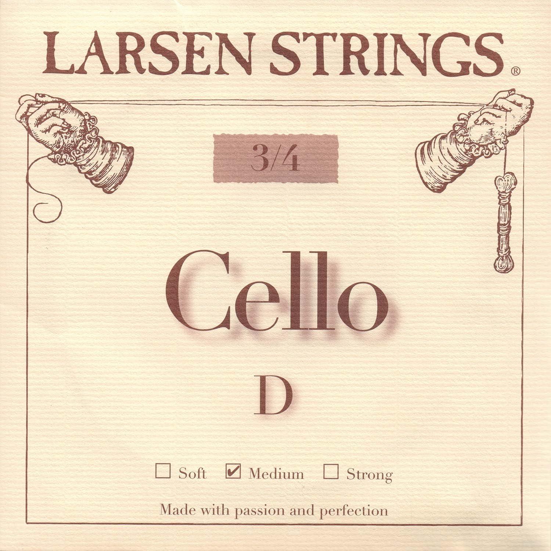 Larsen 3 4 Cello D String Alloy-Steel Arlington Mall discount Medium