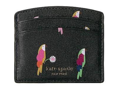 Kate Spade New York Card Holder (Black Multi) Wallet