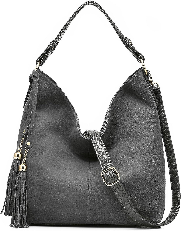 Realer Women Tote Leather Purse Crossbody Bag
