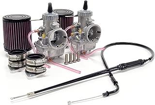 Yamaha XS650 34mm VM34 Mikuni Round Slide Carburetor Conversion Carb Kit by Niche Cycle Supply