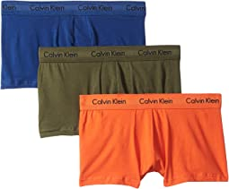 Cotton Stretch Low Rise Trunk 3-Pack NU2664