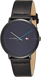 Tommy Hilfigeradultanalogue Classic Quartz Watch With Leather Strap 1791462, For Unisex