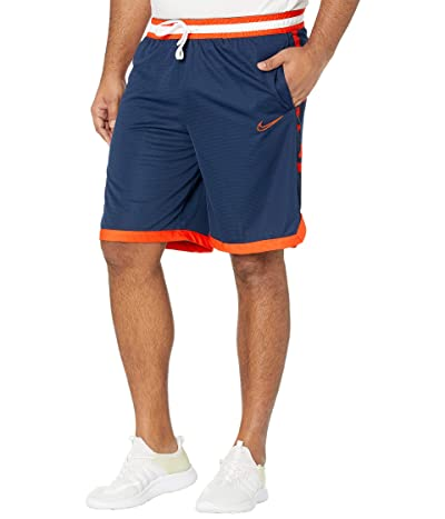 Nike Dry Elite Shorts Stripe (College Navy/Team Orange/Team Orange) Men