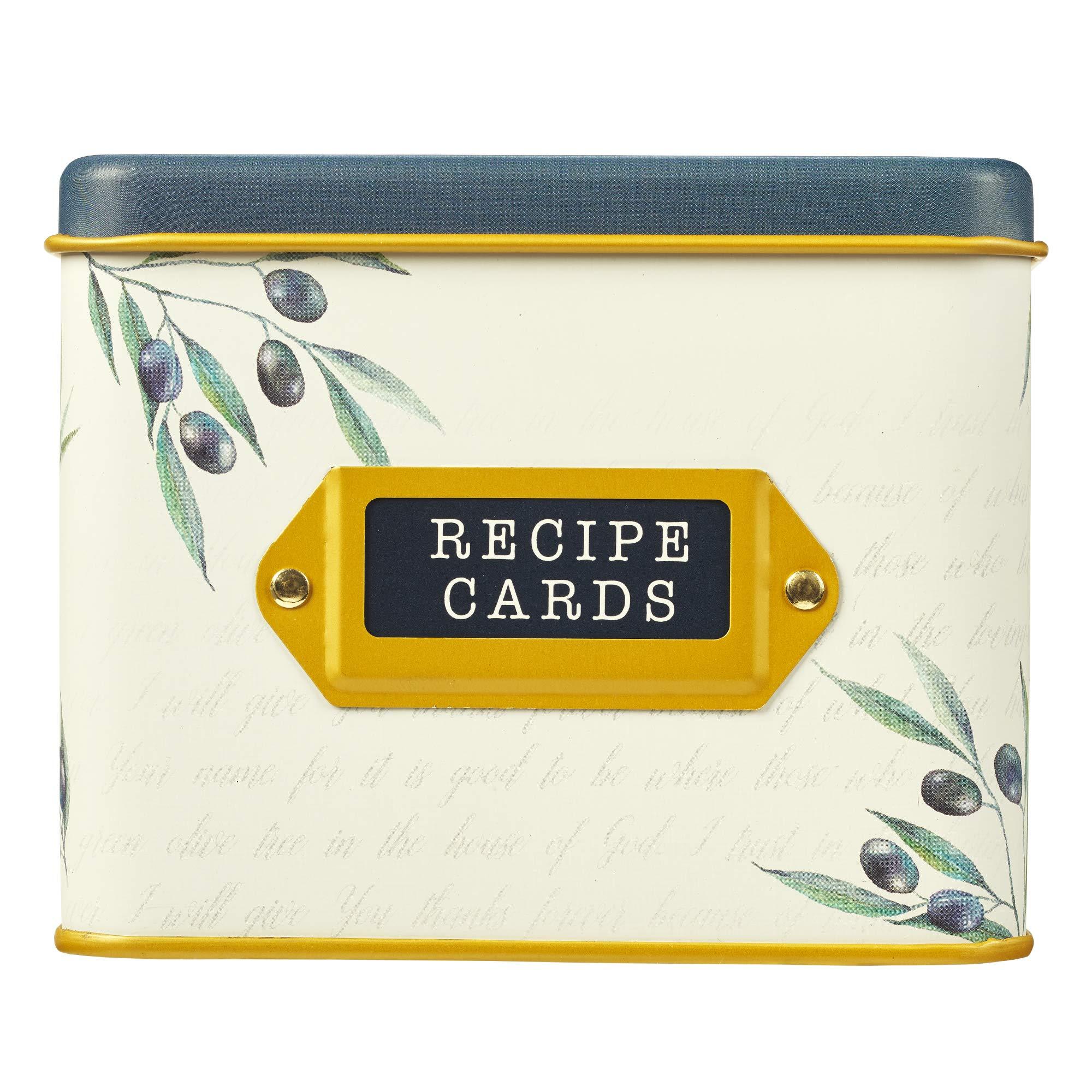 Caja de recetas con tarjetas: sabor y ver que el Señor es bueno, salmo 34:8: Amazon.es: Hogar