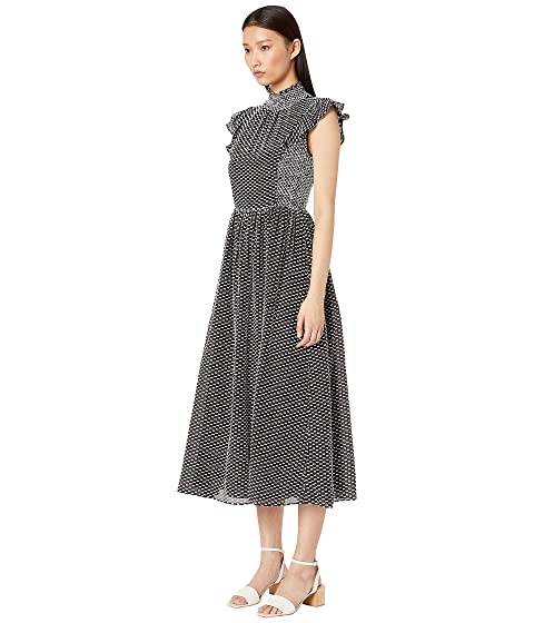 f71dbd04cc9e Kate Spade New York Smocked Clip Midi Dress at Luxury.Zappos.com