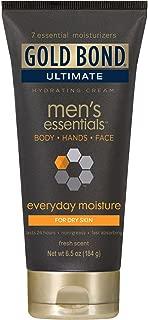 Gold Bond Ultimate Men's Essentials Hydrating Cream - 6.5 oz, Pack of 2