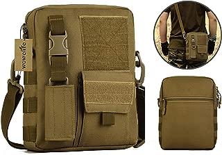 Small Canvas Messenger Bag Small Tactical Bag Crossbody Casual Pack