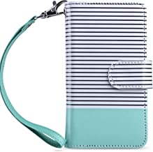 ULAK iPod Touch 7th Generation Case, iPod Touch 6 Wallet Case, Premium PU Leather Flip Wallet Case with Card Holder Stand ...