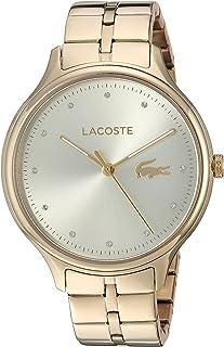 """Lacoste """"Constance"""" - Reloj casual para mujer, cuarzo, chapado en oro (Modelo: 2001008)"""