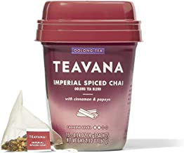 Teavana Imperial Spiced Chai, Oolong Tea With Cinnamon and Papaya, 60 Count (4 packs of 15 sachets)