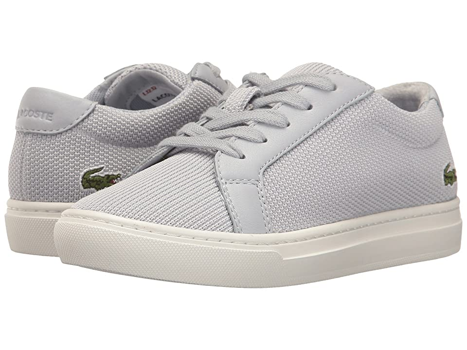 Lacoste Kids L.12.12 217 1 (Little Kid) (Light Grey) Kid