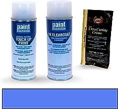 PAINTSCRATCH Electric Storm Blue 8X7 for 2017 Scion iM - Touch Up Paint Spray Can Kit - Original Factory OEM Automotive Paint - Color Match Guaranteed