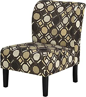 Wood & Style Office Home Furniture Premium Tibbee Accent Chair - Pebble