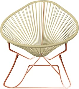 Innit Designs 15-04-27 Junior Acapulco Rocker, Ivory On Copper