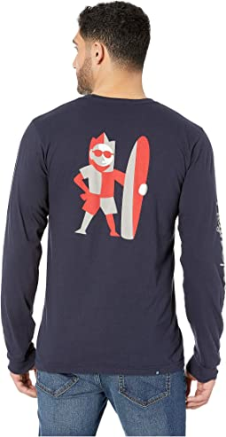 Sun Man Long Sleeve T-Shirt