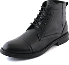 XY HUGO Oxford 5-Eyelet Police Boot Shoes