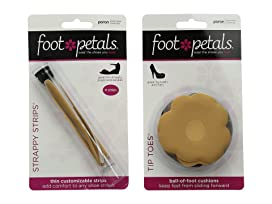 Foot Petals Tip Toes 6-Pair Pack Combo JMnh8MFyMY