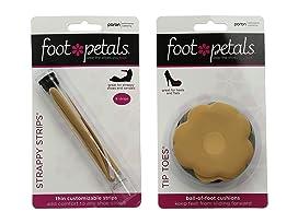 Foot Petals Tip Toes 6-Pair Pack Combo