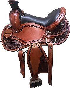 Ayesha International Western Horse Big Horn Saddle