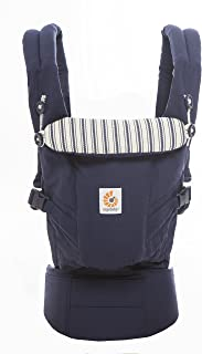 Ergobaby Adapt Baby Carrier, Infant to Toddler Carrier, Multi-Position, Premium Cotton, Admiral Blue