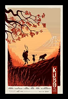 Wallspace Kubo and The Two Strings - 11x17 Framed Movie Poster