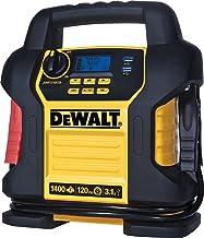 DEWALT DXAEJ14 Digital Portable Power Station Jump Starter: 1400 Peak/700 Instant Amps,..