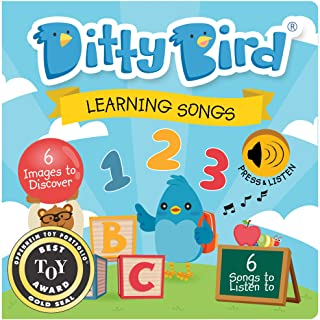 OUR BEST INTERACTIVE LEARNING SONGS BOOK for BABIES and PRESCHOOLERS. Musical Educational Toddler Toys. Sing-Along Board B...