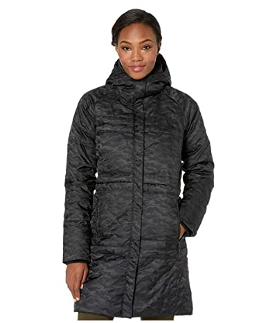 Columbia Ruby Fallstm Down Mid Jacket (Black Jacquard/Black Sherpa) Women