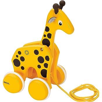 BRIO (ブリオ) プルトイ キリン [ 木製 おもちゃ ] 30200