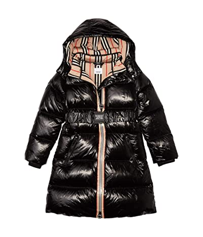 Burberry Kids Abriana Coat (Little Kids/Big Kids) (Black) Girl
