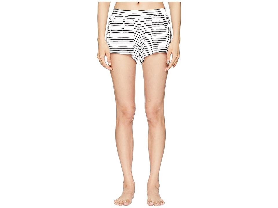 Eberjey Vega The Not So Basic Shorts (Off-White/Black) Women