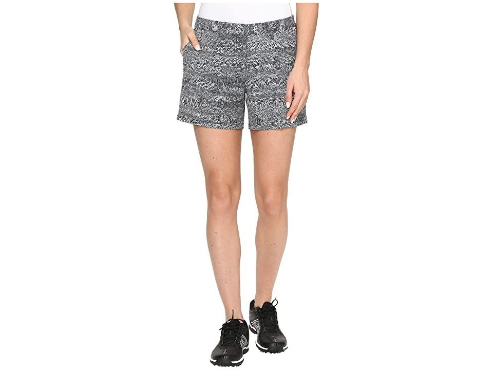Nike Golf Printed 4.5 Shorts (Black/White/Black) Women