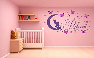 COEURS LOVE Wall Art Stickers Enfant Autocollant Art Chambre Nursery Vinyle V28