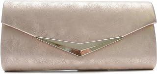 Vain Secrets Damen Umhänge Taschen Abendtasche Clutch in vielen Farben
