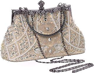 کیف دستی بادی BABEYOND 1920s کیف دستی مروارید گتسبی Roaring 20s Night Clutch Night Beads bag 1920s Gatsby Accessories accessories